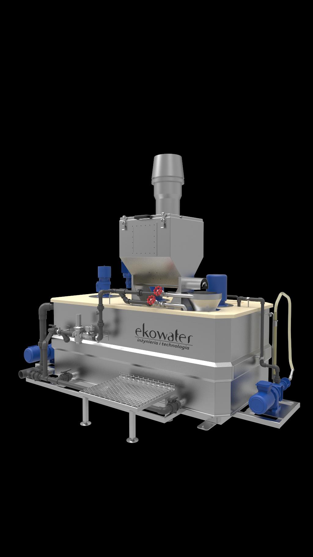 Automatyczne stacje przygotowania polimeru z emulsji i proszku